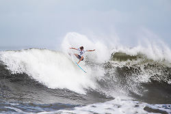Liam Obrien of Australia advances to round three after placing second in round two heat 2 ​of the 2018 Hawaiian Pro at Haleiwa, Oahu, Hawaii, USA.