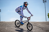 2021 UCI BMXSX World Cup<br /> Round 2 at Verona (Italy)<br /> Qualification<br /> ^mu#645 OEGEMA, Ynze (NED, MU) Oegema Fieten