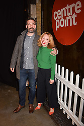 Daisy Lewis and Alexander van Tulleken at the Centrepoint Ultimate Pub Quiz, Village Underground, 54 Holywell Lane<br /> London England. 7 February 2017.
