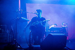 July 3, 2018 - Milan, Italy - Portugal The Man in concert at Fabrique in Milano, Italy, on July 3 2018  (Credit Image: © Mairo Cinquetti/NurPhoto via ZUMA Press)