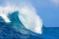 Big ocean wave, Keauhou Bay, Kona Coast, Big Island, Hawaii, Pacific Ocean