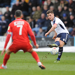 TELFORD COPYRIGHT MIKE SHERIDAN 23/3/2019 - Ross White of AFC Telford during the FA Trophy Semi Final fixture between AFC Telford United and Leyton Orient at the New Bucks Head