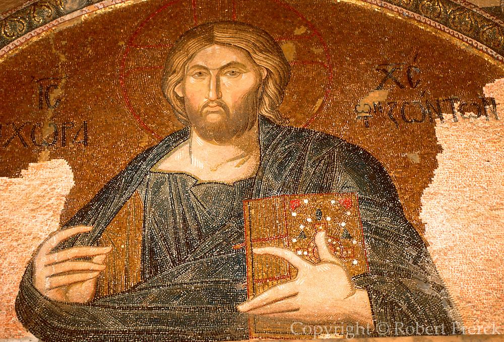 TURKEY, ISTANBUL, BYZANTINE Kariye Camii, Saint Saviour Chora mosaic