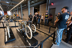 Tour of the Harley-Davidson Museum during the Milwaukee Rally. Milwaukee, WI, USA. Saturday, September 3, 2016. Photography ©2016 Michael Lichter.