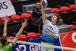Geoffrey van Gent of Lycurgus in action during the league match between Active Living Orion vs. Amysoft Lycurgus on March 20, 2021 in Doetinchem.