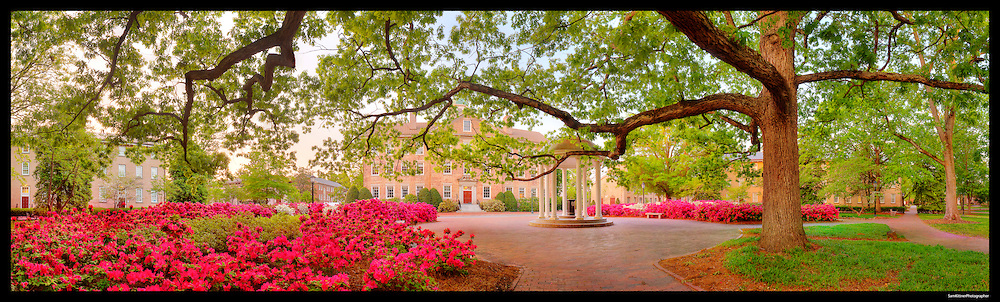Old Well, University of North Carolina, Chapel Hill.  See print gallery for print options.