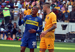 Craig Martin and Daniel Cardoso - Cape Town City v Kaizer Chiefs, 15 September 2018