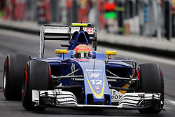 Felipe Nasr (BRA) Sauber C35.<br /> 28.10.2016. Formula 1 World Championship, Rd 19, Mexican Grand Prix, Mexico City, Mexico, Practice Day.<br /> Copyright: Moy / XPB Images / action press