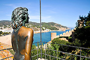 Vila Vella enceinte, Old Town, Tossa De Mar, Costa Brava, Spain