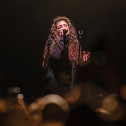 """WASHINGTON, DC - March 7th, 2014 -  Lorde performs at Echostage in Washington, D.C. Hit singles such as """"Royals"""" and """"Team"""" have propelled her debut album, Pure Heroine, to the top of the charts all over the world. (Photo by Kyle Gustafson / For The Washington Post)"""
