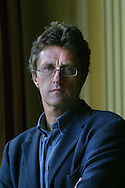 Director Pawel Pawlikowski pictured after winning the prestigious Michael Powell Award for Best New British Feature Film with his film 'My Summer Of Love' at the 2004 Edinburgh International Film Festival which ends today..