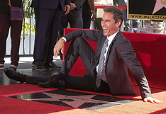 Eric McCormack Gets Hollywood Walk of Fame Star - 14 Sept 2018