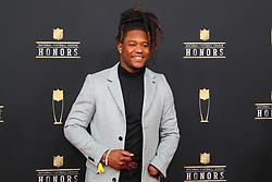 February 2, 2019 - Atlanta, GA, U.S. - ATLANTA, GA - FEBRUARY 02:  Shaquem Griffin  poses for photos on the red carpet at the NFL Honors on February 2, 2019 at the Fox Theatre in Atlanta, GA. (Photo by Rich Graessle/Icon Sportswire) (Credit Image: © Rich Graessle/Icon SMI via ZUMA Press)