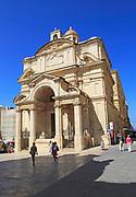 The Church of St Catherine of Alexandria, the Italian church, Valletta, Malta
