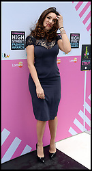 Kelly Brook arrives for Lorraine's High Street Fashion Awards, Wednesday, 22nd May 2013,Picture by Andrew Parsons / i-Images