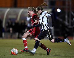 Millie Farrow of Bristol City Women - Mandatory by-line: Paul Knight/JMP - Mobile: 07966 386802 - 23/02/2016 -  FOOTBALL - Stoke Gifford Stadium - Bristol, England -  Bristol City Women v Notts County Ladies - Pre-season friendly