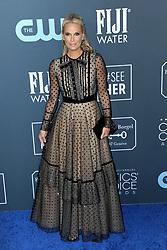 Molly Sims at the 25th Annual Critics' Choice Awards held at the Barker Hangar in Santa Monica, USA on January 12, 2020.