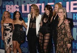 May 29, 2019 - New York City, New York, U.S. - Actresses REESE WITHERSPOON, ZOE KRAVITZ, LAURA DERN, SHAILENE WOODLEY, NICOLE KIDMAN and MERYL STREEP attend HBO's Season 2 premiere of 'Big Little Lies' held at Jazz at Lincoln Center. (Credit Image: © Nancy Kaszerman/ZUMA Wire)