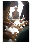 workshop baking bagels, kabinet k