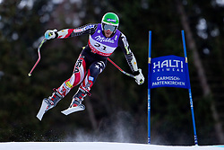 10.02.2011, Kandahar, Garmisch Partenkirchen, GER, FIS Alpin Ski WM 2011, GAP, Herren Abfahrtstraining, im Bild Bode Miller (USA) takes to the air competing in the first men's downhill training run on the Kandahar race piste at the 2011 Alpine skiing World Championships, EXPA Pictures © 2011, PhotoCredit: EXPA/ M. Gunn