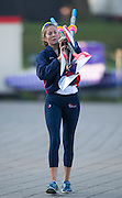 Amsterdam. NETHERLANDS. USA W4-, 2014 FISA  World Rowing. Championships.  De Bosbaan Rowing Course . 08:01:00  Thursday  21/08/2014  [Mandatory Credit; Peter Spurrier/Intersport-images]