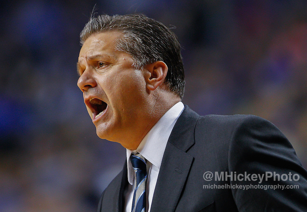 LEXINGTON, KY - JANUARY 31: Head coach John Calipari of the Kentucky Wildcats is seen during the game against the Alabama Crimson Tide at Rupp Arena on January 31, 2015 in Lexington, Kentucky. Kentucky defeated Alabama 70-55.(Photo by Michael Hickey/Getty Images) *** Local Caption *** John Calipari