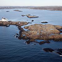 Grønningen fyr utenfor Kristiansand.