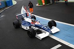 July 1, 2017 - Cicuit Nevers Magny-Cours, France - Jean Alesi (ex pilote de F1 vainqueur d'un grand prix) sur Tyrrell 019/03 (Credit Image: © Panoramic via ZUMA Press)