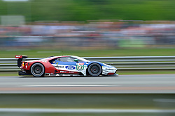 June 17, 2018 - Le Mans, Sarthe, France - Ford Chip Ganassi TEAM UK USA FORD GT Driver OLIVIER PLA (FRA) in action during the 86th edition of the 24 hours of Le Mans 2nd round of the FIA World Endurance Championship at the Sarthe circuit at Le Mans - France (Credit Image: © Pierre Stevenin via ZUMA Wire)