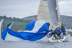 Day 1 Scottish Series, SAILING, Scotland.<br /> <br /> Tangaroa, Pronavia 38, 1121L, CCC <br /> <br /> The Scottish Series, hosted by the Clyde Cruising Club is an annual series of races for sailing yachts held each spring. Normally held in Loch Fyne the event moved to three Clyde locations due to current restrictions. <br /> <br /> Light winds did not deter the racing taking place at East Patch, Inverkip and off Largs over the bank holiday weekend 28-30 May. <br /> <br /> Image Credit : Marc Turner / CCC