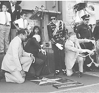 1984 Michael Jackson's Walk of Fame ceremony