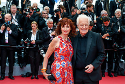 Sabine Azema and Andre Dussolier attend the opening ceremony and screening of The Dead Don't Die during the 72nd Cannes Film Festival on May 14, 2019 in Cannes, France. Photo by Ammar Abd Rabbo/ABACAPRESS.COM