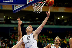 Chris Kaman of Germany during basketball game between National basketball teams of Germany and Turkey at FIBA Europe Eurobasket Lithuania 2011, on September 9, 2011, in Siemens Arena,  Vilnius, Lithuania. Germany defeated Turkey 73-67.  (Photo by Vid Ponikvar / Sportida)
