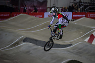 #697 (BUJAKI Bence) HUN at the 2016 UCI BMX Supercross World Cup in Manchester, United Kingdom<br /> <br /> A high res version of this image can be purchased for editorial, advertising and social media use on CraigDutton.com<br /> <br /> http://www.craigdutton.com/library/index.php?module=media&pId=100&category=gallery/cycling/bmx/SXWC_Manchester_2016