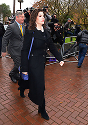 The TV Chef Nigella Lawson arrives at Isleworth Crown Court. London, United Kingdom. Wednesday, 4th December 2013. The TV chef is expected to testify today at trial for Francesca and Elisabetta Grillo, who appear charged with fraud after allegedly using a company credit card to defraud the TV chef and her former husband out of ¬£300,000. Picture by Nils Jorgensen / i-Images<br />