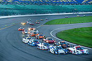 August 17, 2013: Grand Am Kansas. Start of the Grand Am Kansas race