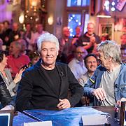 NLD/Hilversum/20131130 - Start Radio 2000, dj's top2000 George Kooijmans en Rinus Gerritsen