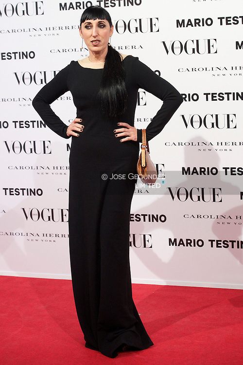 Rosi de Palma attends Vogue December Issue Launch Party at Palacio Fernan Nunez on 27 November, 2012 in Madrid