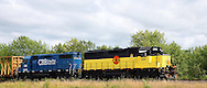 Portland and Western with Coos Bay Rail engines