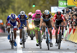 October 7, 2018 - Tours, France - Tours, France - October 7 : NAESEN Oliver (BEL) of AG2R La Mondiale during the 112th edition of the Paris - Tours Elite cycling race with start in Chartres and finish in Tours on October 7, 2018 in Tours, France, 07/10/2018 (Credit Image: © Panoramic via ZUMA Press)