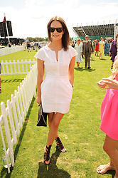 ARABELLA MUSGRAVE at the Cartier International Polo at Guards Polo Club, Windsor Great Park, Berkshire on 25th July 2010.