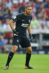 August 1, 2017 - Munich, Germany - Jan Oblak of Atletico de Madrid during the first Audi Cup football match between Atletico Madrid and SSC Napoli in the stadium in Munich, southern Germany, on August 1, 2017. (Credit Image: © Matteo Ciambelli/NurPhoto via ZUMA Press)