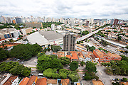 Belo Horizonte_MG, Brasil...Vista panoramica de Belo Horizonte, Minas Gerais. Na foto Viaduto Francisco Sales sobre a avenida dos Andradas...The panoramic view of Belo Horizonte, Minas Gerais. In this photo the Francisco Sales viaduct over the Andradas avenue.. .Foto: NIDIN SANCHES / NITRO