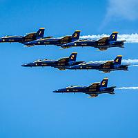 Blue Angels Over McKinney, TX