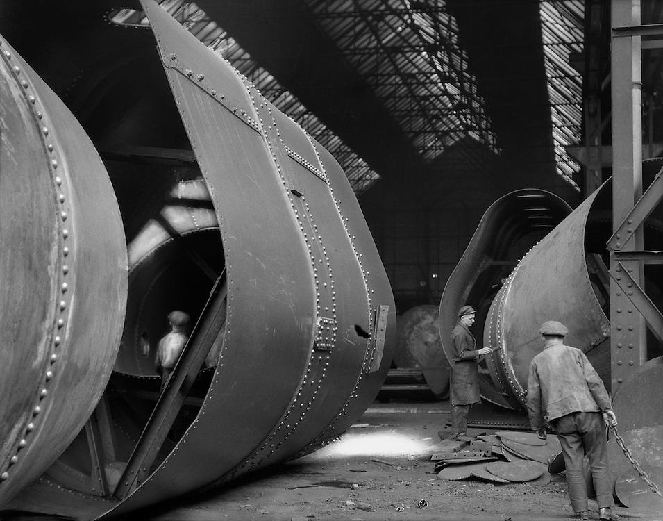 Workers, C.H. Jucho Steel Construction, Dortmund, 1928