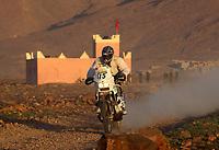 Motorsport<br /> Paris Dakar - 7. etappe<br /> 7. januar 2004<br /> Tan Tan - Marokko<br /> Foto: Digitalsport<br /> Pål Anders Ullevålseter