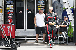 June 1, 2018 - Long Pond, Pennsylvania, United States of America - Matt DiBenedetto (32) hangs out in the garage during practice for the Pocono 400 at Pocono Raceway in Long Pond, Pennsylvania. (Credit Image: © Justin R. Noe Asp Inc/ASP via ZUMA Wire)