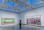Prada (1)and other works - Andreas Gursky a new exhibiition. The Hayward Gallery reopens on the Southbank after a major refurbishment.
