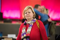 DEU, Deutschland, Germany, Berlin, 10.12.2016: Dr. Gesine Lötzsch beim Landesparteitag von Die Linke im WISTA-Veranstaltungszentrum Adlershof.