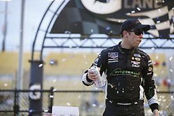 March 10, 2018 - Avondale, Arizona, United States of America - March 10, 2018 - Avondale, Arizona, USA: Brad Keselowski (22) celebrates in victory lane after winning the DC Solar 200 at ISM Raceway in Avondale, Arizona. (Credit Image: © Chris Owens Asp Inc/ASP via ZUMA Wire)